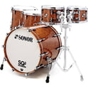 79. Sonor SQ2 Rock Set Maple Walnut Root