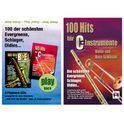 Musikverlag Hildner 100 Hits for C Vol.1 Set