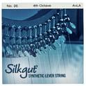 58. Bow Brand Silkgut 4th A Harp Str. No.26