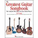 4. Hal Leonard The Greatest Guitar Songbook