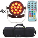 56. Fun Generation LED Pot 12x1W QCL RGB W Bundle
