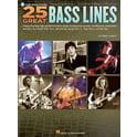 Hal Leonard 25 Great Bass Lines