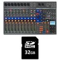Zoom LiveTrak L-12 Card Bundle