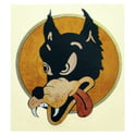 121. Jockomo JG Wolf Sticker