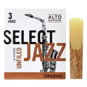 124. DAddario Woodwinds Select Jazz Unfiled Alto 3H