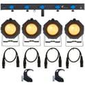 Stairville Z100M Par 64 LED ACL Set