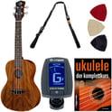 Luna Guitars Ukulele Concert Tattoo Set G