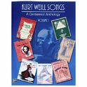Alfred Music Publishing Kurt Weill Songs Vol.1