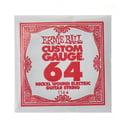 66. Ernie Ball 064 Single String Wound Set