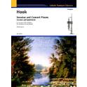 Schott Hook Sonatas And Concert Piece