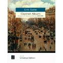 Universal Edition Satie Clarinet Album