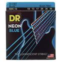 34. DR Strings Hi-Def Neon Blue NBE-10-46