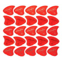 37. Sharkfin Pick Goldprint Soft Red 25