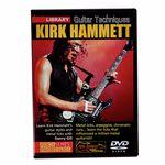 Music Sales Kirk Hammett DVD