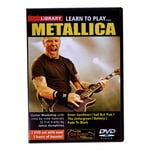 Music Sales Learn To Play Metallica 1