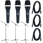 AKG D-5 Triple Bundle