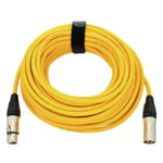 pro snake 17900 Mic-Cable 15m Yellow