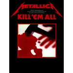 Music Sales Metallica Kill 'Em All