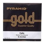Pyramid Gold Cello String 4/4