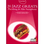 Music Sales 20 Jazz Greats (Alto-Sax)