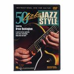 Hal Leonard Jazz Styles 50 Licks DVD