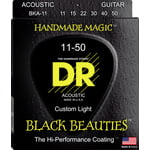 DR Strings Black Beauties BKA- 11