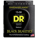 DR Strings Black Beauties BKA- 13
