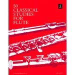 Universal Edition 50 Classical Studies For Flute