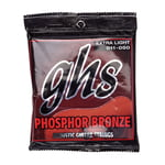GHS S315 Phosphor Bronze Ex Light