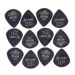 Dunlop Tortex Pitchblack Jazz 73 12P