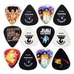 Dunlop Jimi Hendrix Plektrum Axis