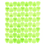 Dunlop Gels Mediumlight Green 72Pack