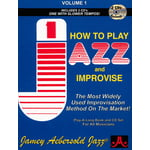 Jamey Aebersold How To Play Jazz Improvise 1 E