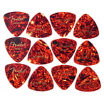 Fender Triangle Picks Shell Set Heavy