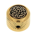Q-Parts Dome Potiknob Celtic Weave G