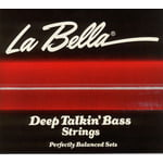 La Bella 760N-B DT Bass Black Nylon M