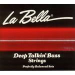 La Bella 760N-B DT Bass Black Nylon M