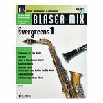 Schott Bläser-Mix Evergreens Vol.1 Eb