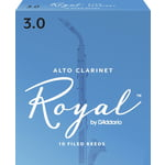 Daddario Woodwinds Royal Boehm Alto Clarinet 3