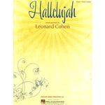 Hal Leonard Hallelujah Leonard Cohen PVG