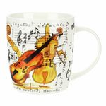 Music Sales Noble Coffee Mug Violin