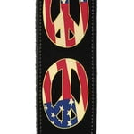 Planet Waves 25LW06 Peace Woodstock Strap