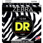 DR Strings Zebra A/E Medium Set