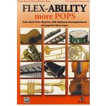 Alfred Music Publishing Flex-Ability More Pops Oboe