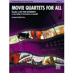 Alfred Music Publishing Movie Quartets for All Tromb.