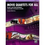 Alfred Music Publishing Movie Quartets for All Violin