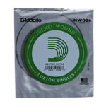 Daddario NW026 Single String
