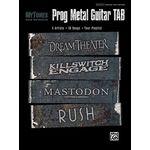 Alfred Music Publishing Prog Metal Guitar Tab