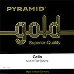 Pyramid Gold Cello String 1/4