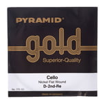 Pyramid Gold Cello String D
